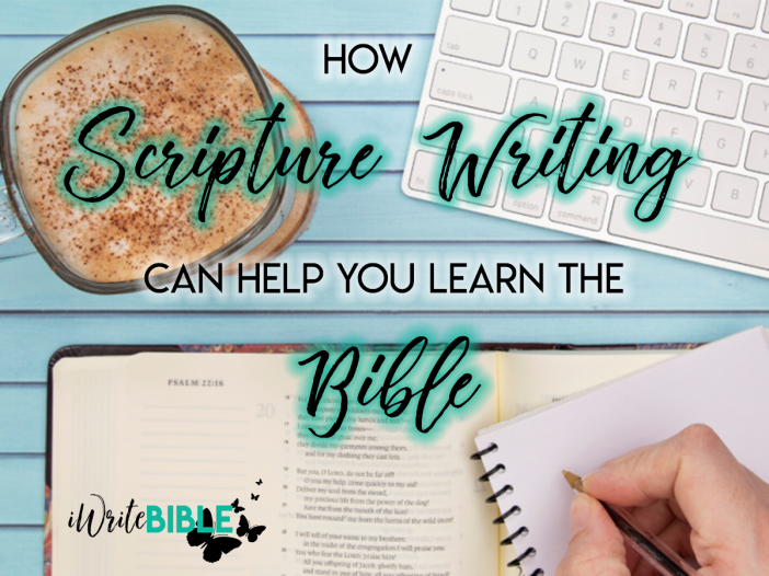 How Scripture Writing Can Help You Learn Bible Image