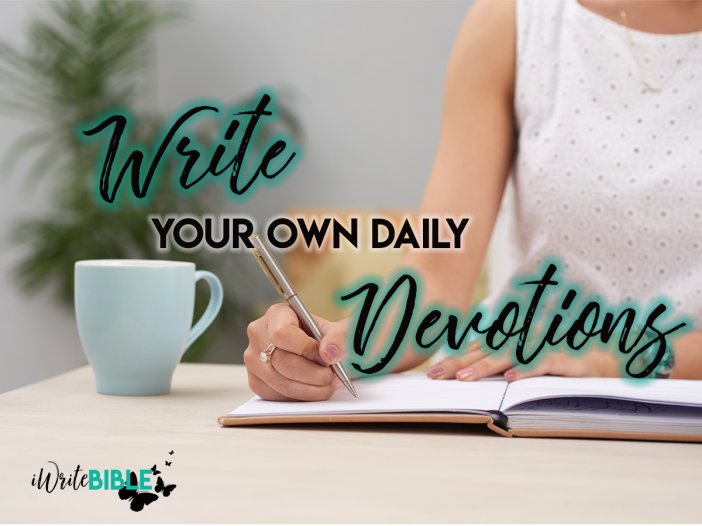 Write Your Own Devotions Image