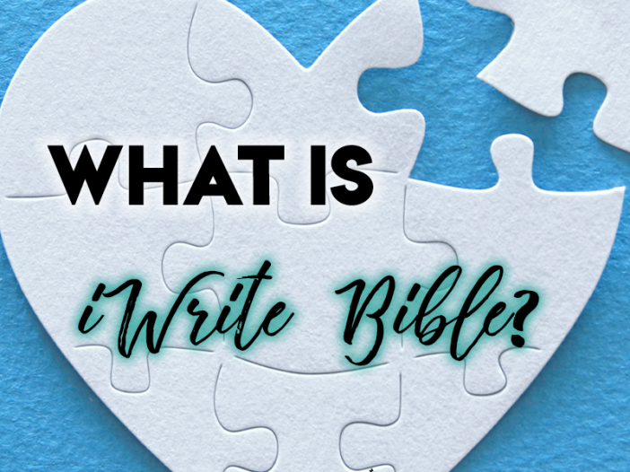 What is iWrite Bible Image