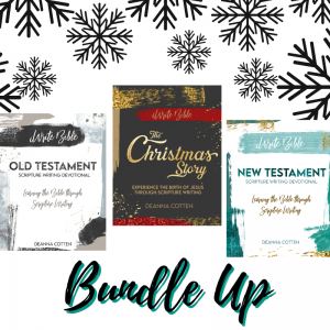Bundle Up with iWrite Bible Website graphic